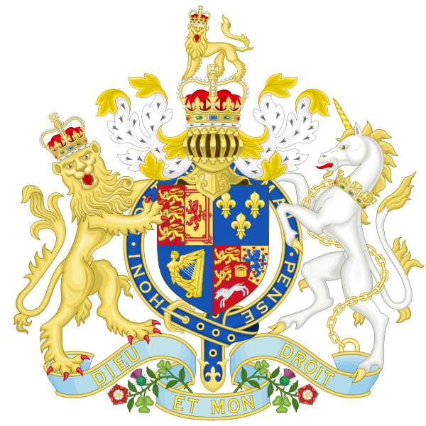 The Arms of King George I