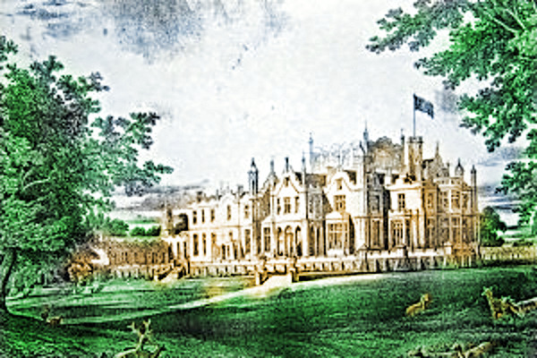 Allerton Castle Engraving