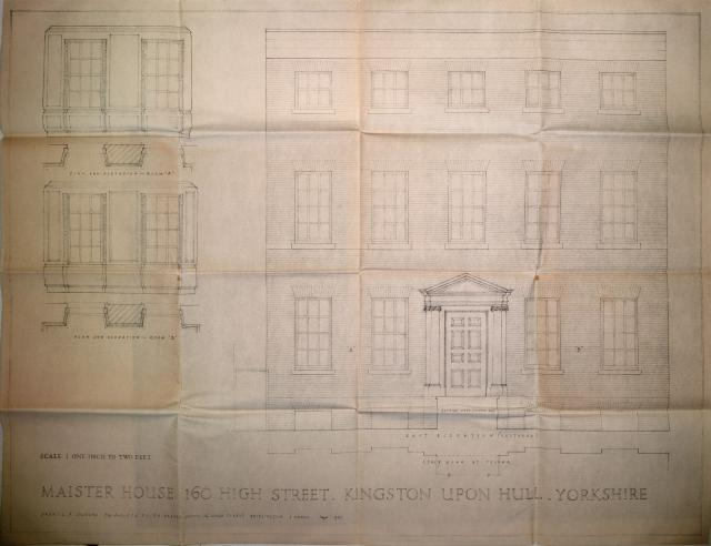Francis Johnson Maister House Drawing