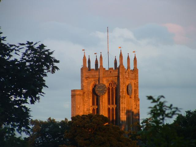 Tower of St Mary the Virgin Cottingham.