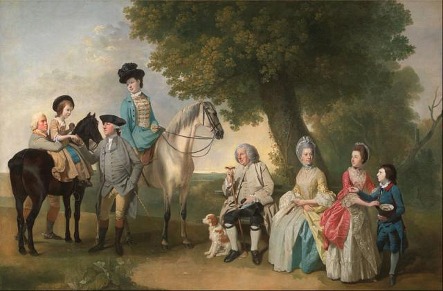 The Drummond Family, by Johan Joseph Zoffany
