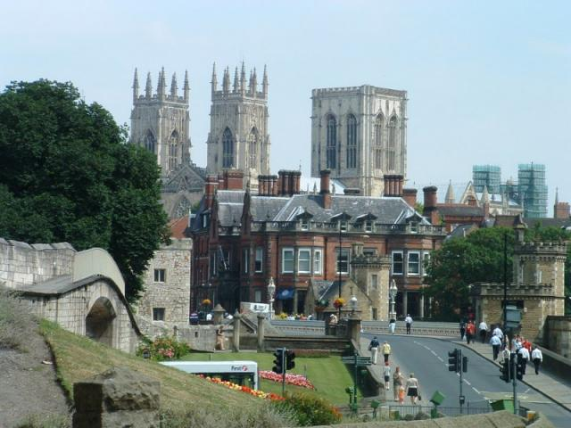 York Minster from the Walls