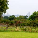 Lincoln Cathedral from Doddington Hall.