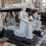 Tomb of Robert Cecil, 1st Earl of Salisbury (died 1612), Hatfield,  by Maximillian Colt,  the King's Master Sculptor, who designed the tomb of Elizabeth I in Westminster Abbey