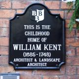 William Kent's birth place