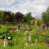 Walled garden at Southwood Hall
